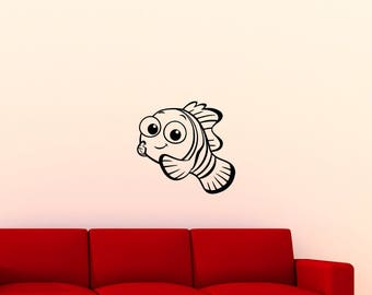 Finding nemo decal etsy for Finding dory wall decals