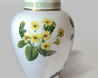 Spode A Country Lane Ginger Jar, Vintage 1970s English China