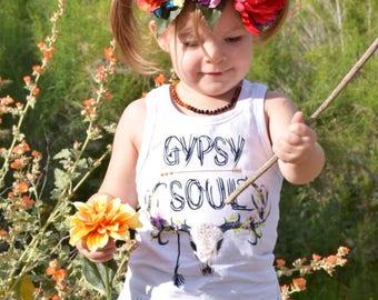 Gypsy Soul Fringe Tank Top