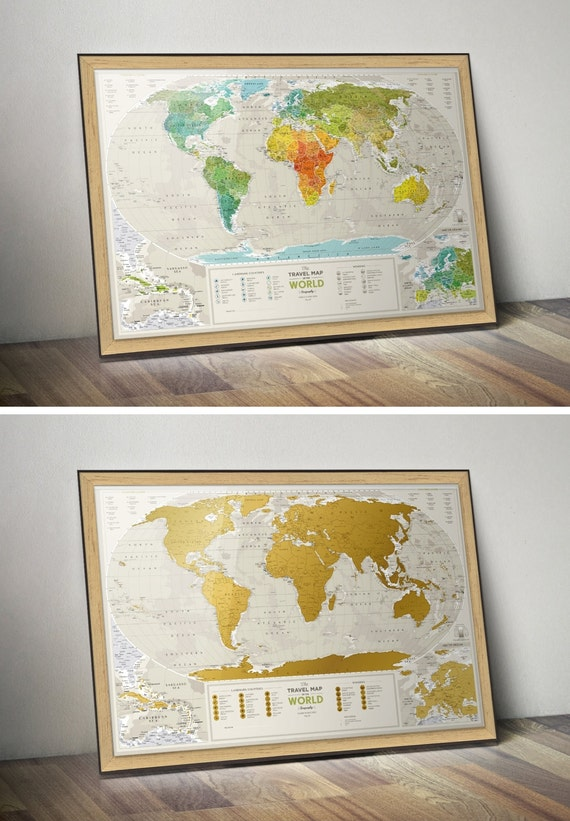 Push Pin Travel Map Push Pin World Map World Push Pin by TheMapLab – World Push Pin Travel Map
