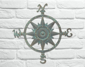 "Compass Rose 23"" Wall Decor"
