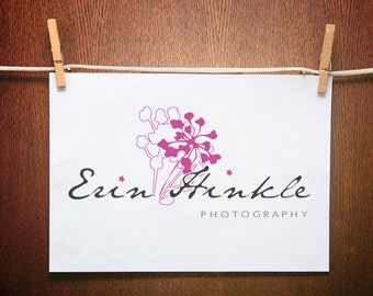 Photography Logo  - Premade Logo Design -Text Logo