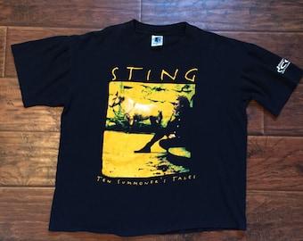 Sting Tour Tee