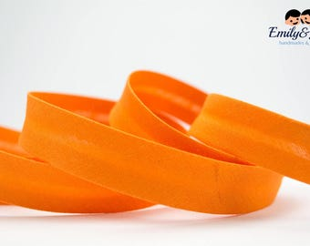 bias tape orange, bias binding