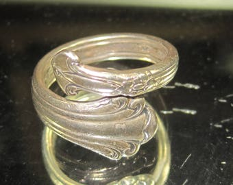 X-10 Vintage Ring  sterling silver size 8