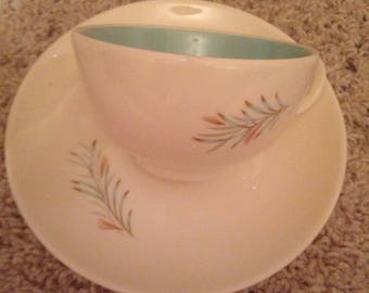 Vintage Futon made in Usa cup and saucer
