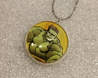 Necklace Avengers Hulk