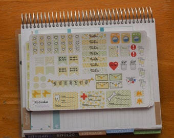 Garden  planner sticker set 4 sheets