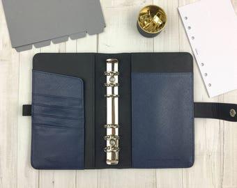 "Personal planner ""midnight blue"" organizer calendar timer agenda"