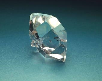 Grade A Herkimer Diamond Water Clear DT Quartz Crystal w/ Baby Rider New York