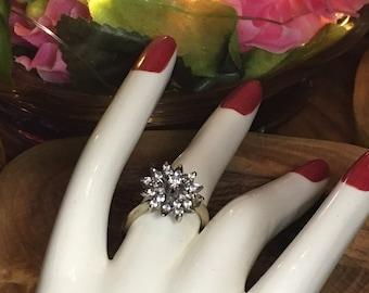 Brilliant Art Deco diamond ring