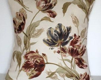 "1 x 16"" (40cm x 40cm)Laura Ashley Gosford Paprika Cushion Cover"