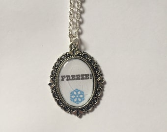 Mei Overwatch Cameo Necklace