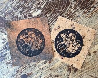 Blockprint Handmade Sew On Fabric Autumn Is Here Patch