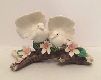 Capodimonte Porcelain Doves