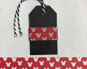 "30"" Red Mickey Mouse Washi Tape Sample"
