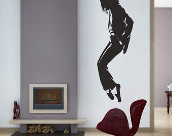 King Of Music Wall Decal, Music Wall Decal, Teens Room Decal, Wall Art Part 91