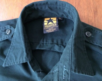 Ripstop uniform shirt