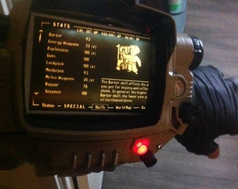 Pip-Boy Mark IV, 3d Printed Replica [FAN  ART]