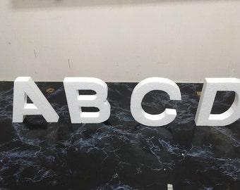 Foam (Alphabet) Letters