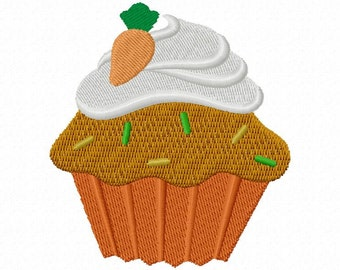 Cute cupcakes Machine Embroidery Designs 4 x 4""