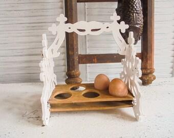 Kitchen utensil egg stand hand made unique egg holder