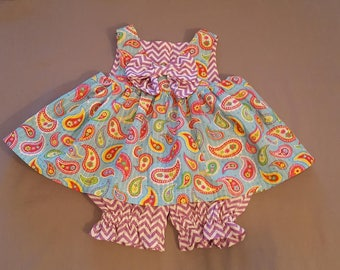 Infant sundresses with bloomers