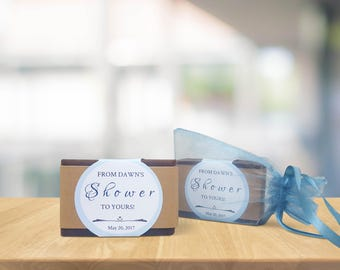 Custom Shower Favor Soaps - Shower Favor Gifts - Baby Shower Favors - Baby Shower Gifts
