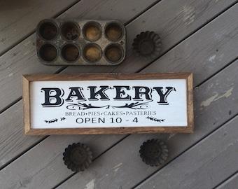 Bakery Kitchen Sign // Bakery // Kitchen Sign // Bakery Sign // farmhouse kitchen // farmhouse decor