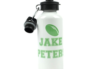 Personalised Rugby Drink Bottle