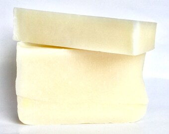 Just Plain Soap, Homemade Natural Soap, Unscented Soap