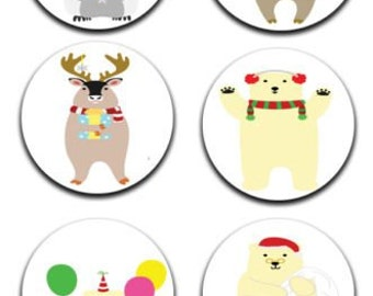 A pack of 6 christmas fun Pattern weights Ideal for weighing down patterns on delicate fabrics no need for pins TV sewing Bee