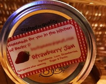 Strawberry Jam (1/2 pint)