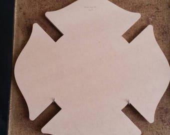 "22"" W x 22"" H unfinished Maltese cross"
