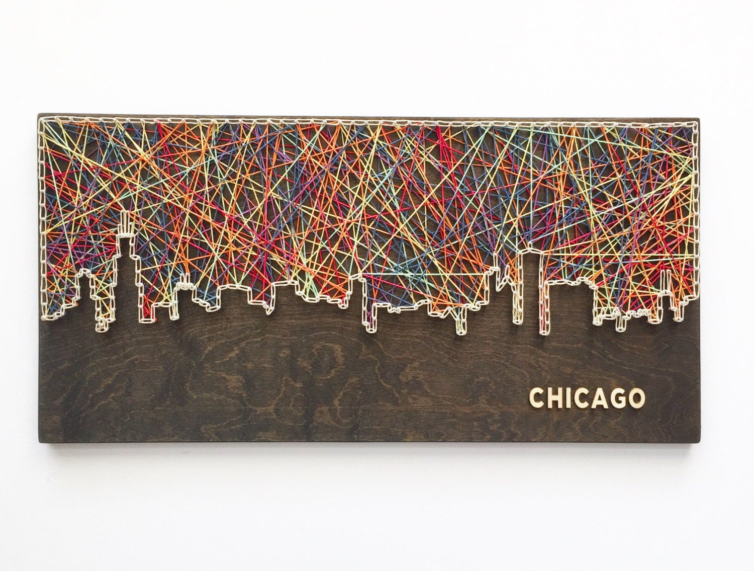 Chicago Art Etsy - Chicago map etsy