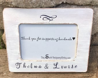 Thelma and louise, thelma and louise gifts, thelma and louise picture frame, soul sisters gift, soul sisters, best friends frame, friends