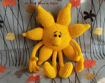Wholesale crochet Sun