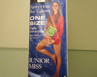1970s/1980s (?) Barbra Junior Miss Panty Hose (New)