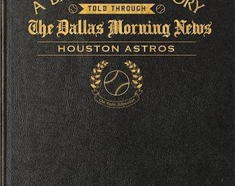 Dallas Morning News Houston Astros Baseball Book - Leather