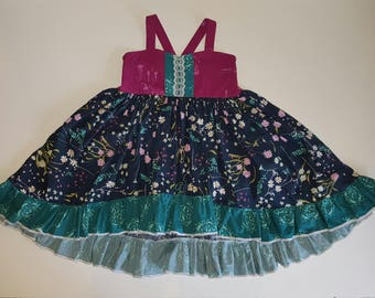 girls dresses, girls floral dresses, girls spring dresses, girls summer clothes, girls Summer dress, girls clothing