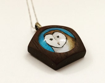Custom Animal Art Necklace