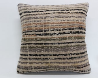cushion cover 20x20 decorative kilim pillow sofa pillow striped pillow multicolour pillow kilim anatolian turkish kilim pillow SP5050-1156