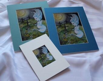 Wisp: Graveyard Flowerbed // Prints