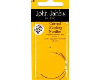 John James Needles - Curved Beading Needles