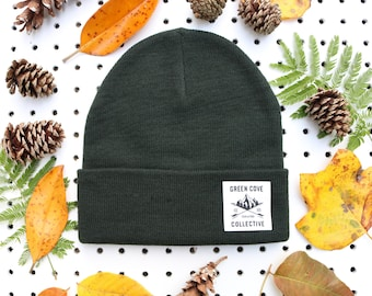 The Highland Camp Beanie - Forest Green