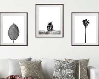 Black and white print, set of 3 wall art, printable set,wall art set,black white printable,gallery wall art, wall art print,minimalist print