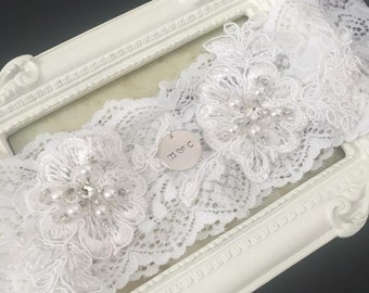 Elasticated Soft Lace Garter
