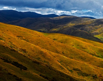 Mountain Landscape Photo, Mountain and Sky Art, Fine Art Landscape Photography, Nature View Photo