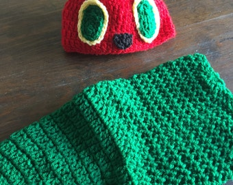 Hungry caterpillar infant photo prop