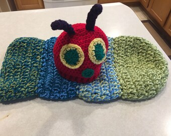 The Very Hungry Caterpillar Cocoon and Matching Hat